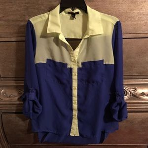 Material girl blouse